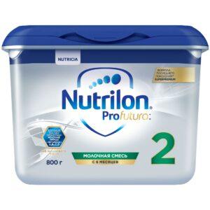 Нутрилон Суперпремиум Профутура Молочная смесь 2, 800г