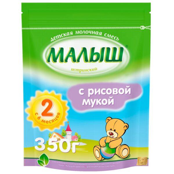 Малыш Истринский Смесь молочная сухая с рисовой мукой, 350г
