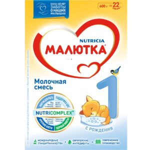 Малютка Молочная смесь 1, 600г