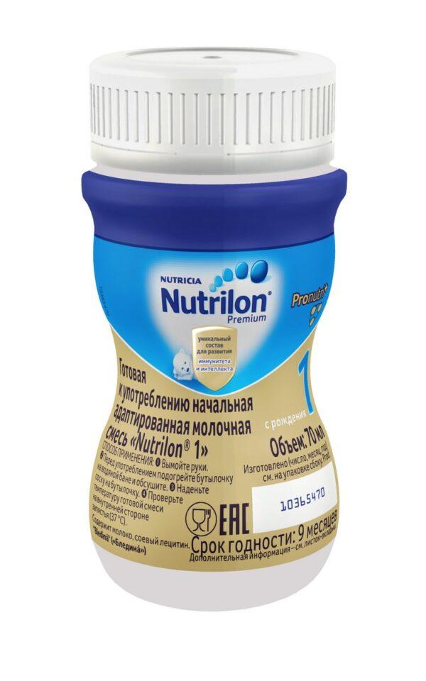 Нутрилон Премиум Жидкая молочная смесь 1, 70мл