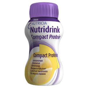 Нутридринк Компакт Протеин со вкусом банана, 4 штуки по 125 мл
