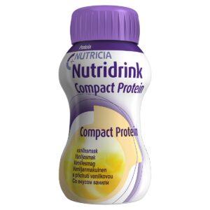 Нутридринк Компакт Протеин со вкусом ванили, 4 штуки по 125 мл