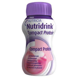 Нутридринк Компакт Протеин со вкусом клубники, 4 штуки по 125 мл