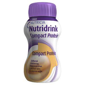 Нутридринк Компакт Протеин готовая питательная смесь со вкусом кофе 4 шт по 125мл