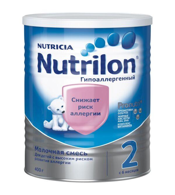 Нутрилон Молочная смесь Гипоаллергенный 2, 400г