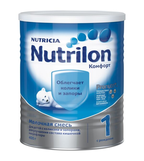 Нутрилон Молочная смесь Комфорт 1, 400г