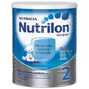 Нутрилон Молочная смесь Комфорт 2, 400г