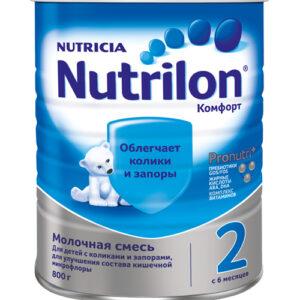 Нутрилон Молочная смесь Комфорт 2, 800г