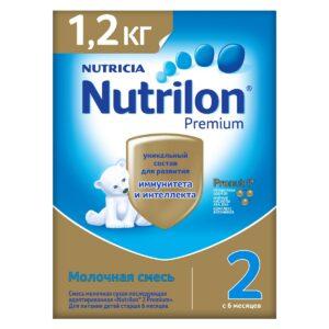 Нутрилон Премиум Молочная смесь 2, 1200г
