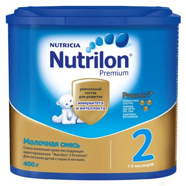 Нутрилон Премиум Молочная смесь 2, 400г