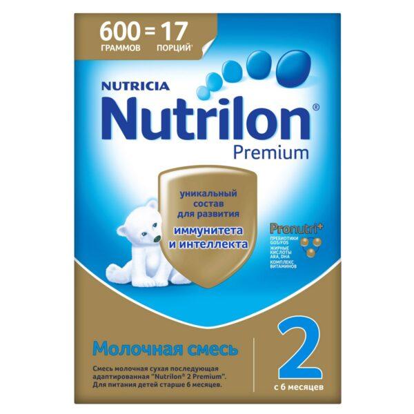 Нутрилон Премиум Молочная смесь 2, 600г