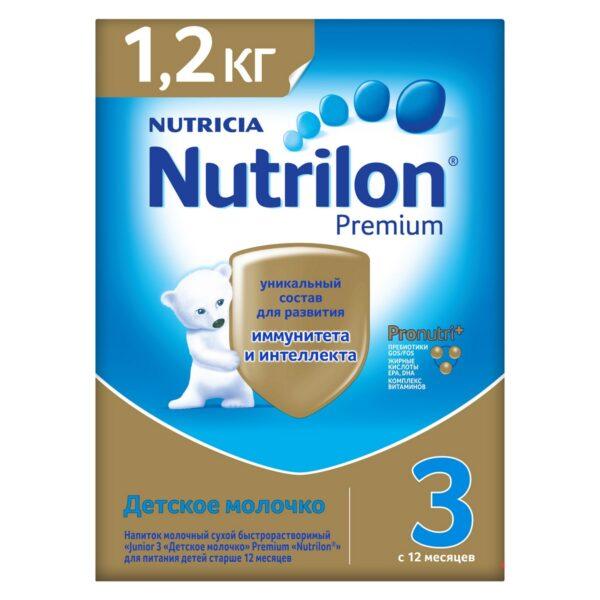 Нутрилон Премиум Детское молочко 3, 1200г