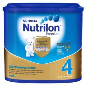 Нутрилон Премиум Детское молочко 4, 400г