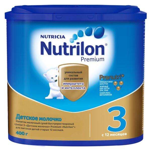 Нутрилон Премиум Детское молочко 3, 400г